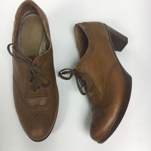 NAOT heeled EUR 39.5 wingtip oxford Brown US 8.5